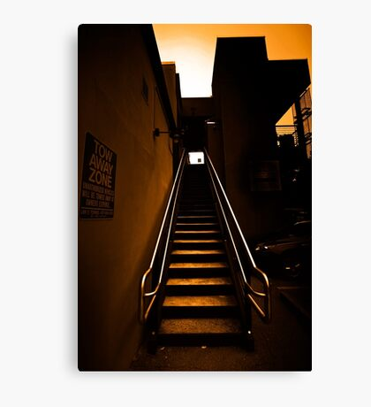 Stairway // Hot  Canvas Print