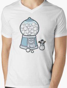 Snow Ball Gum Ball Mens V-Neck T-Shirt