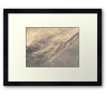 Crack in the armour Framed Print