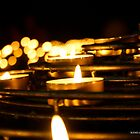By the Light of Candles  by kimiazahir