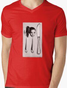 Icelandic Silverware Mens V-Neck T-Shirt