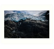 Glaciers! Art Print