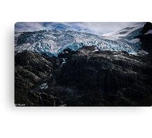 Glaciers! Canvas Print