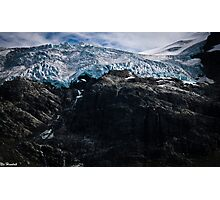 Glaciers! Photographic Print