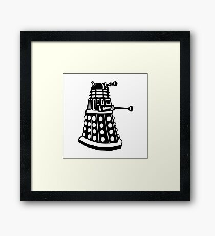 Dalek - Doctor Who Framed Print