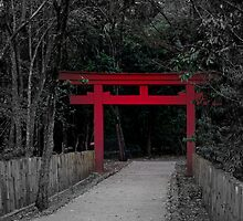 Japanese Arch by virtualkiwi