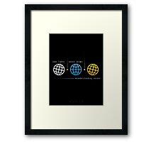 Ævolve Framed Print