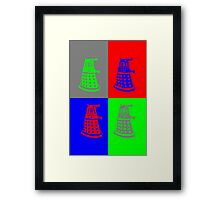 Daleks - Doctor Who Framed Print