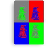 Daleks - Doctor Who Canvas Print