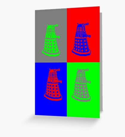 Daleks - Doctor Who Greeting Card