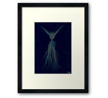 spooky spook magical fairy ghost Framed Print