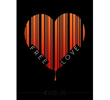 Love Is Free Photographic Print