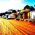 Mornington Beach Boxes by Adam  Oriti