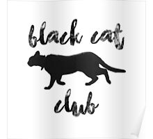 Black Cat Club - Henry Side Poster