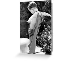 I believe I can fly. Greeting Card