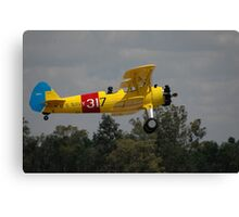 Boeing Stearman @ Temora Airshow, Australia 2011 Canvas Print