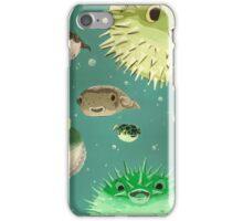 The Blowfish Recumbent iPhone Case/Skin