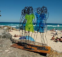Naked Ladies, Sculptures By The Sea Exhibition 2006 by muz2142
