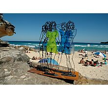 Naked Ladies, Sculptures By The Sea Exhibition 2006 Photographic Print