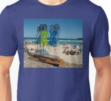 Naked Ladies, Sculptures By The Sea Exhibition 2006 Unisex T-Shirt