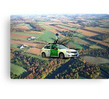 Google Where!!!! Canvas Print