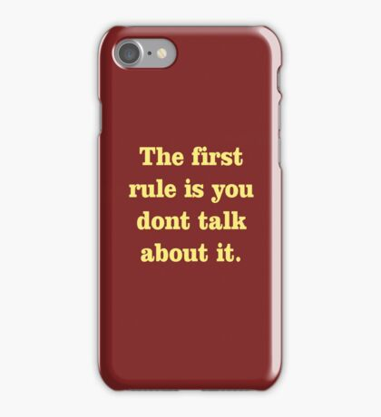 The Law iPhone Case/Skin