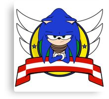 Sonic Boom Canvas Print