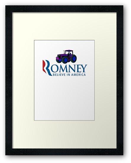 Harvesting Mitt Romney 2012 by Tia Knight