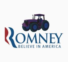 Harvesting Mitt Romney 2012 by Tia Knight