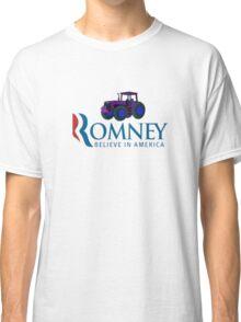 Harvesting Mitt Romney 2012 Classic T-Shirt