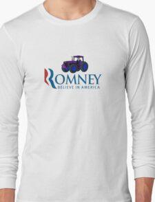 Harvesting Mitt Romney 2012 Long Sleeve T-Shirt
