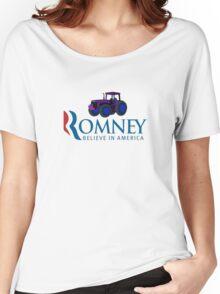 Harvesting Mitt Romney 2012 Women's Relaxed Fit T-Shirt