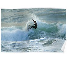 Early Morning Surf Poster