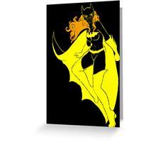 Batgirl Greeting Card