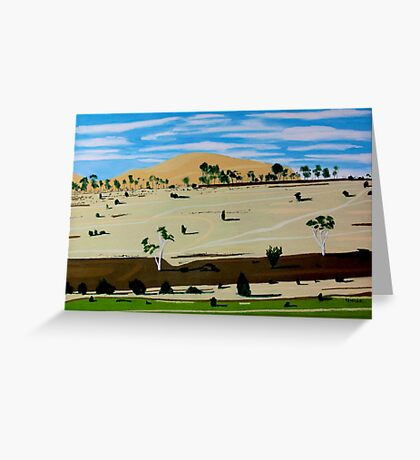 Landscape North of Oatlands Greeting Card