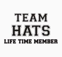 Team HATS, life time member Kids Clothes