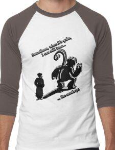 when it's quite Men's Baseball ¾ T-Shirt
