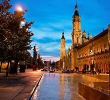 Quiet Evening in Saragossa by Steven  Van Gucht