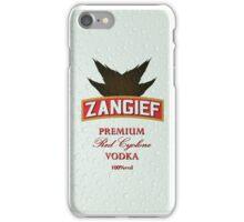 Zangief - Premium Red Cyclone Vodka iPhone Case/Skin