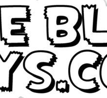 The Blot Says... Black & White Sticker