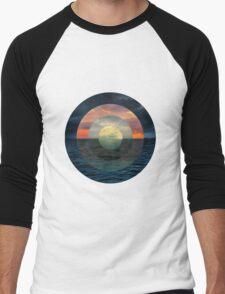 Ocular Oceans Men's Baseball ¾ T-Shirt