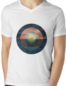 Ocular Oceans Mens V-Neck T-Shirt