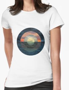 Ocular Oceans Womens Fitted T-Shirt