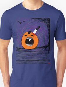 """ psychotic break Pumpkin Carving""  Halloween Tia Knight Unisex T-Shirt"