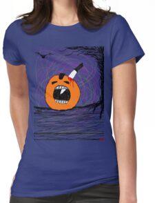 """ psychotic break Pumpkin Carving""  Halloween Tia Knight Womens Fitted T-Shirt"