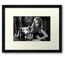 The Buffalo Plains  Framed Print