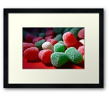 Spice Drops Framed Print