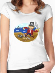 Pirate Arr! Women's Fitted Scoop T-Shirt