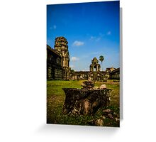 The stones of Siem Reap Greeting Card