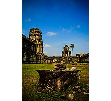 The stones of Siem Reap Photographic Print